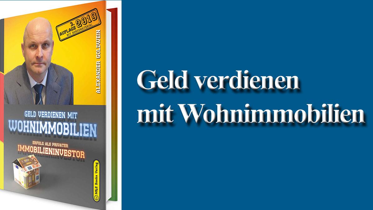 Geld verdienen mit Wohnimmobilien Rewos GmbH Immobilienbuch Immobilienbücher